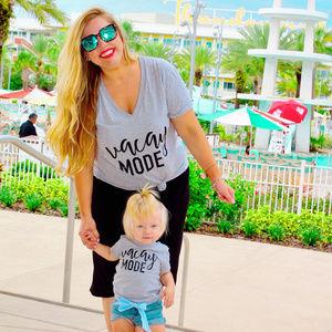 Vacay Mode Mom and Baby Shirt